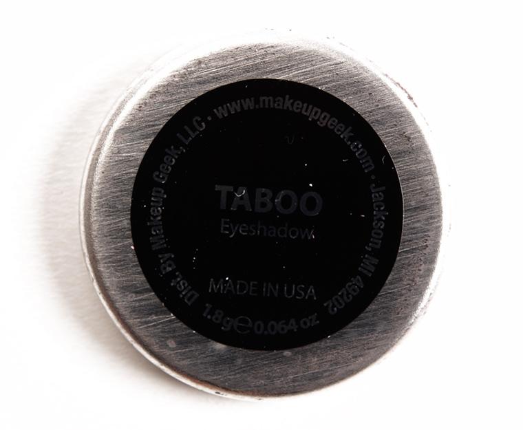 Makeup Geek Taboo Eyeshadow