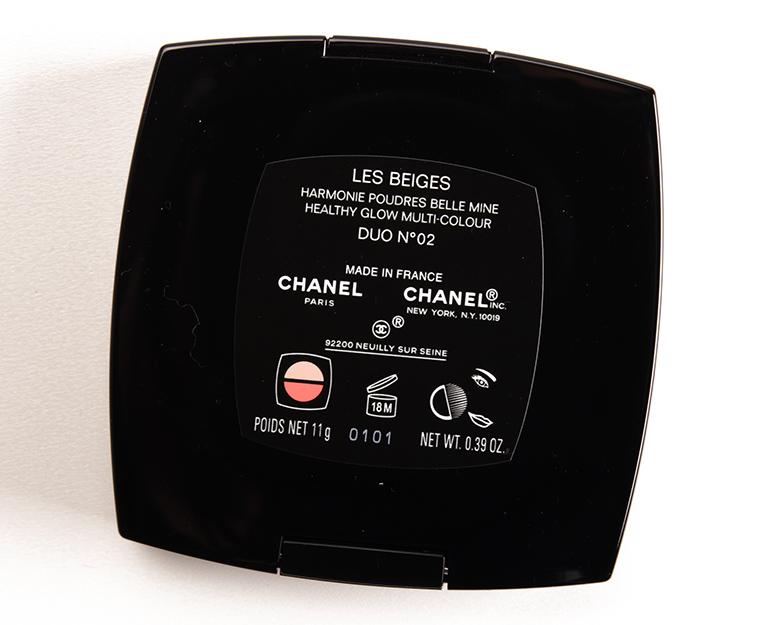 ผลการค้นหารูปภาพสำหรับ Chanel Les Beiges Healthy Glow multi colour duo
