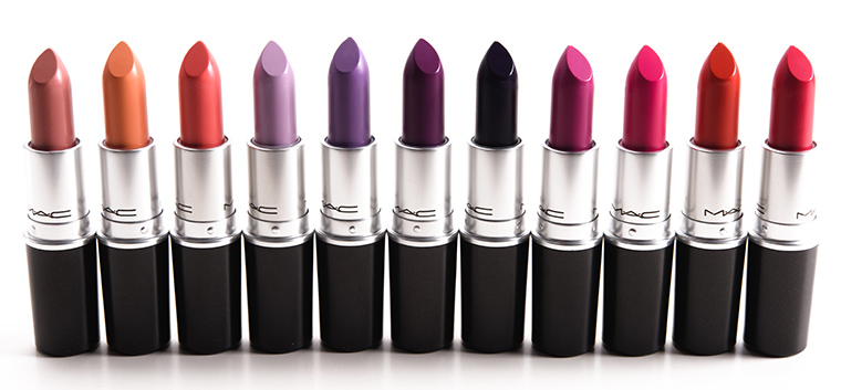 MAC Blue Nectar Lipsticks