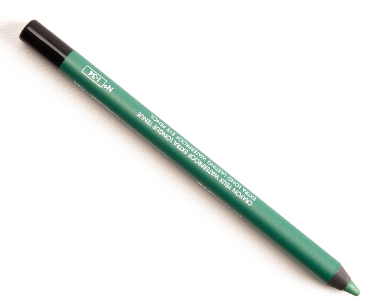Make Up For Ever I34 Iridescent Pop Green XL Eye Pencil