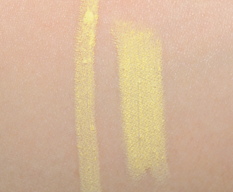 Make Up For Ever M40 Matte Pastel Yellow Aqua XL Eye Pencil