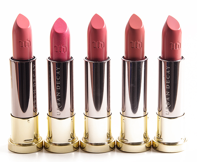 Urban Decay Criminal Rejected Wrong Number Sheer Liar Ravenswood Vice Lipsticks