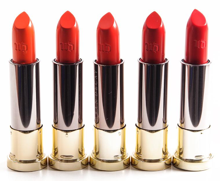 Urban Decay Crash Bang Slowburn No Tell Motel Sheer F Bomb Vice Lipsticks Reviews