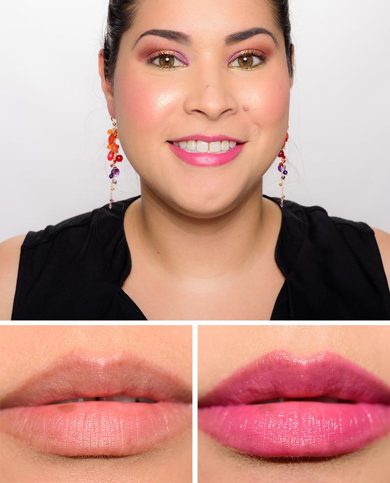Guerlain my first lipstick pinketie black perfecto la for Tarte lip paint fomo