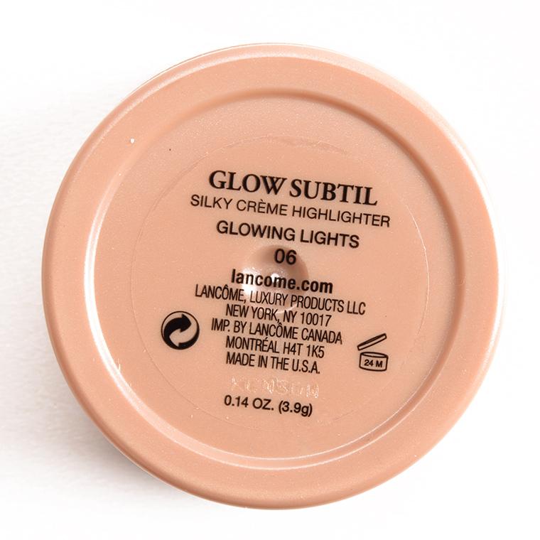 Lancome Glowing Lights Glow Subtil Silky Creme Highlighter