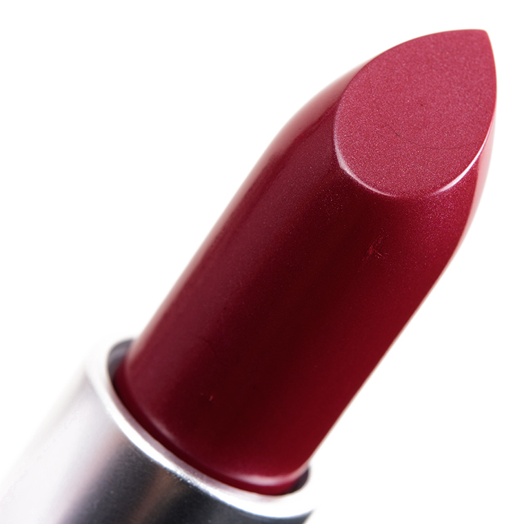 Top MAC Party Line Lipstick Review & Swatches QA03