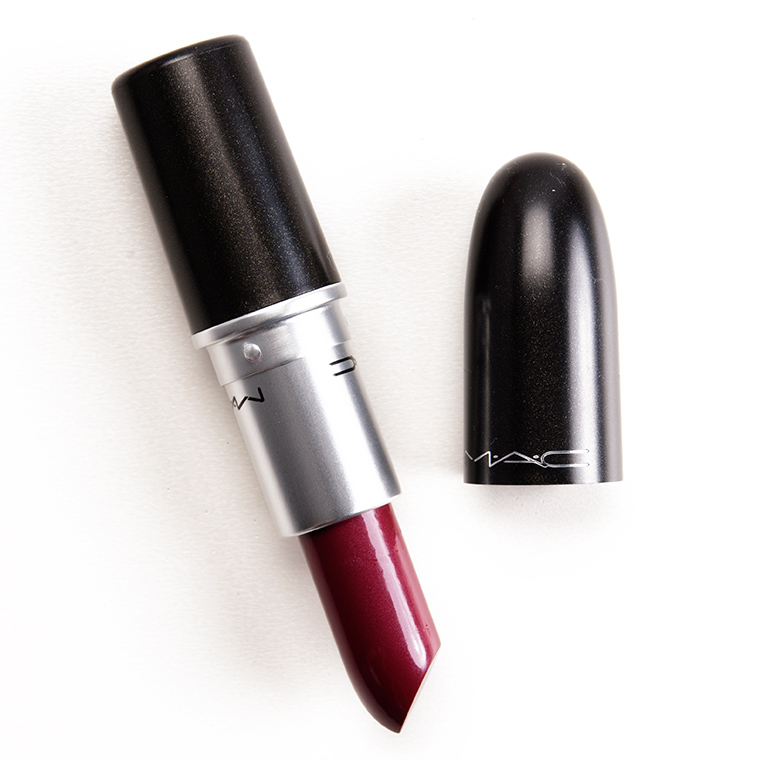 Ben noto MAC Party Line Lipstick Review & Swatches PI07
