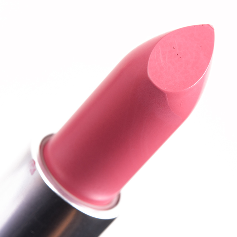 mac pink plaid lipstick review swatches