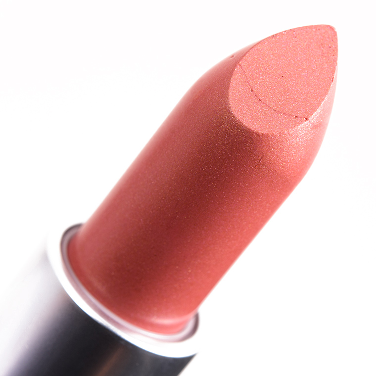 mac ramblin rose lipstick review amp swatches