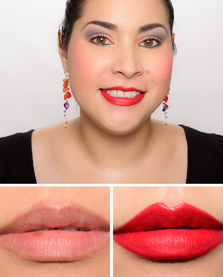 mac highlights really me red rock lipsticks reviews