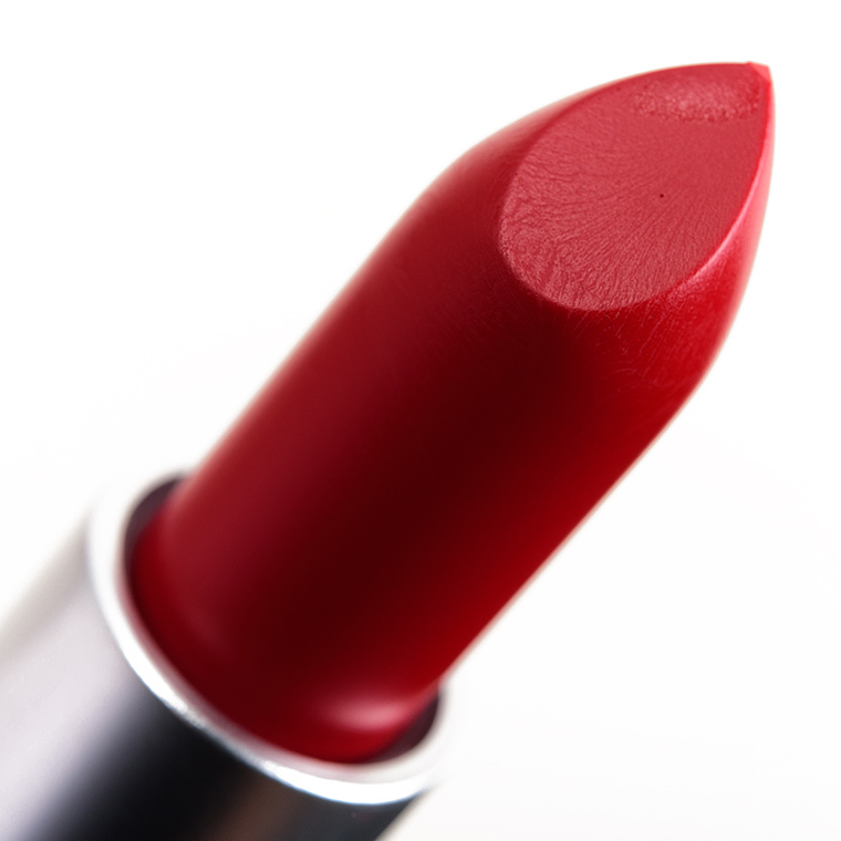 MAC Ruby Woo Lipstick Review & Swatches