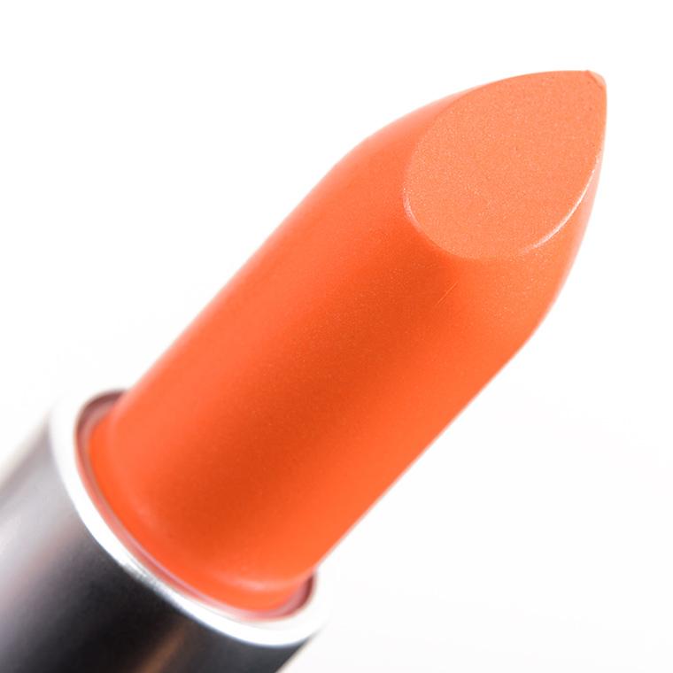 MAC Tangerine Dream Lipstick Review & Swatches
