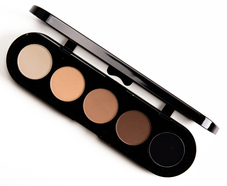 Makeup Atelier Natural Brown (T03S) 5-Colors Eye Shadow Palette