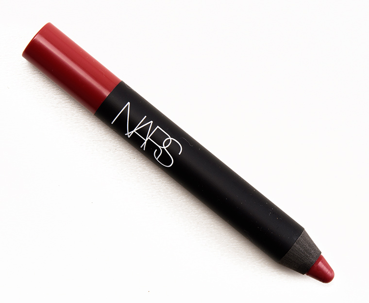 nars consuming red  u0026 infatuated red velvet matte lip pencils reviews  photos  swatches