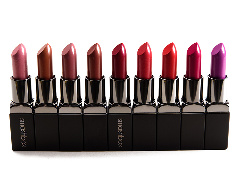 Sneak Peek: 18 x Smashbox Be Legendary Lipsticks Photos & Swatches