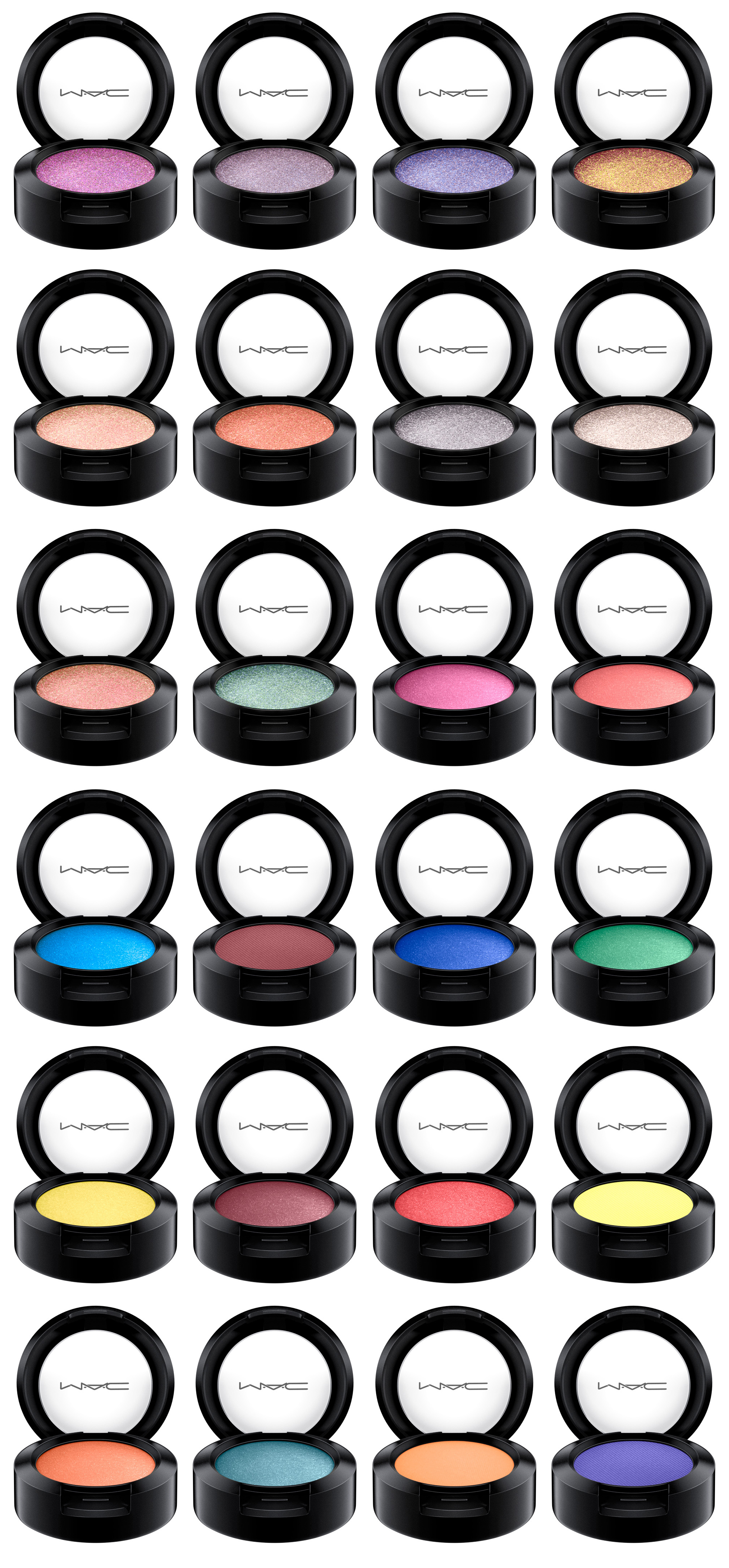 MAC Bangin' Brilliant Collection - New Permanent Eyeshadows, Blushes, Lipsticks for June 2016