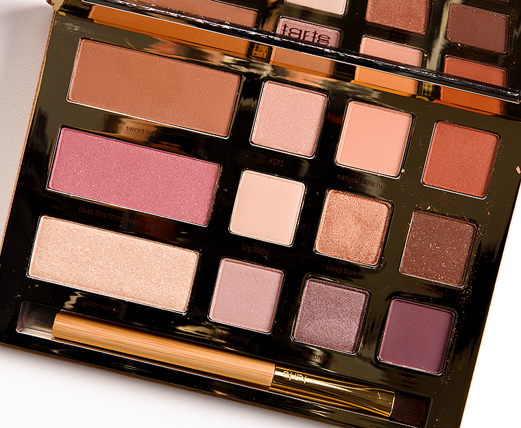 tarte swamp queen eye cheek palette review photos swatches. Black Bedroom Furniture Sets. Home Design Ideas