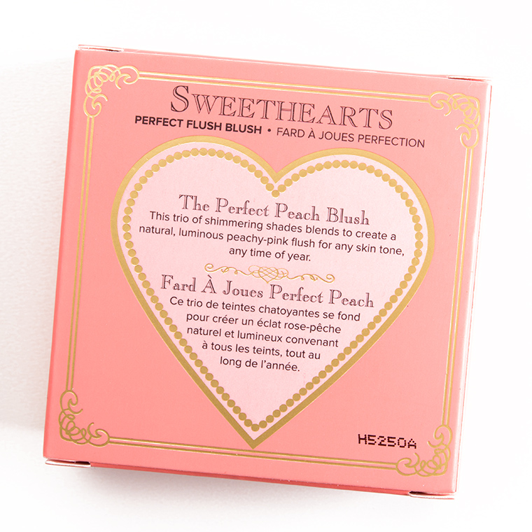 Too Faced Sparkling Bellini Sweethearts Perfect Flush Blush