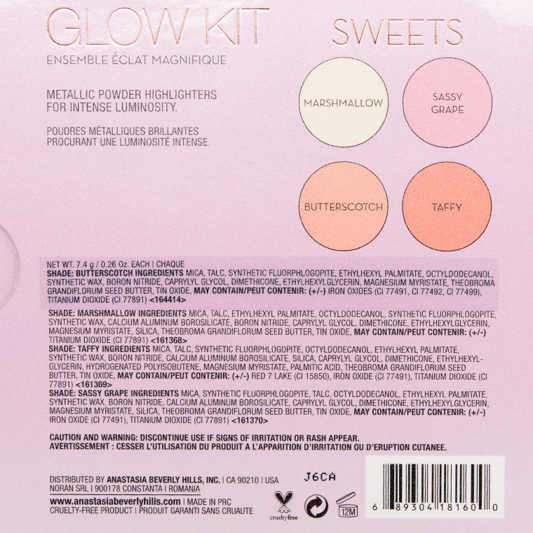 Anastasia Sweets Glow Kit