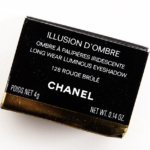 Chanel Rouge Brule (128) Illusion d'Ombre Long Wear Luminous Eyeshadow