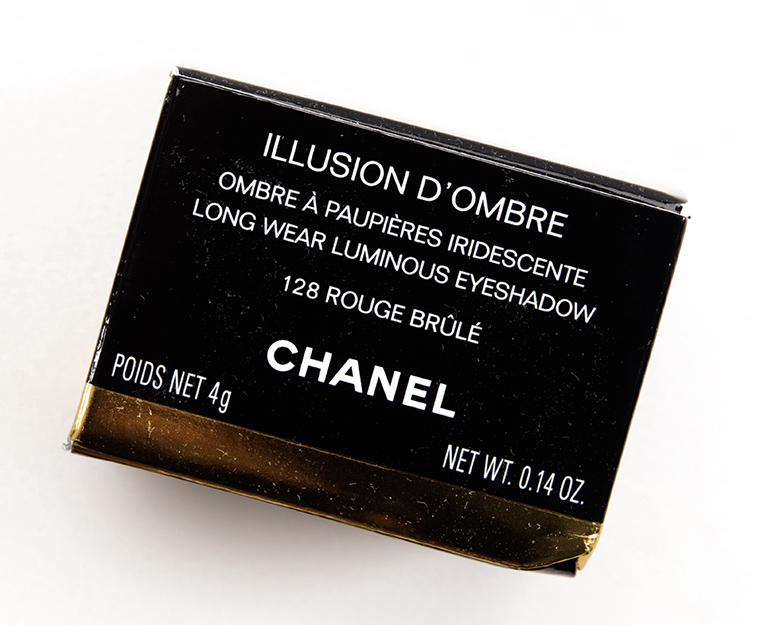 Chanel Rouge Rouge Brûlé (128) Illusion d'Ombre Eyeshadow