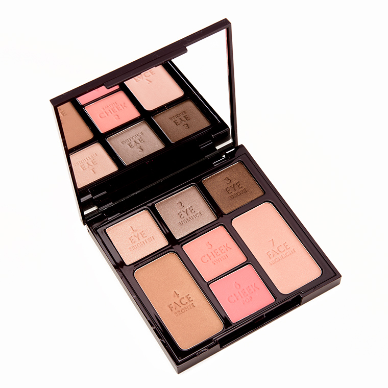 Charlotte Tilbury Instant Look In A Palette Makeup Palette Review Swatches