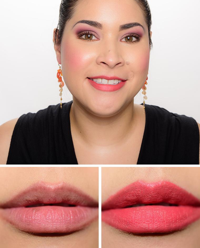 Charlotte Tilbury Secret Salma, Hot Emily, Miranda May Hot ... Mac Lipstick Full Fuchsia