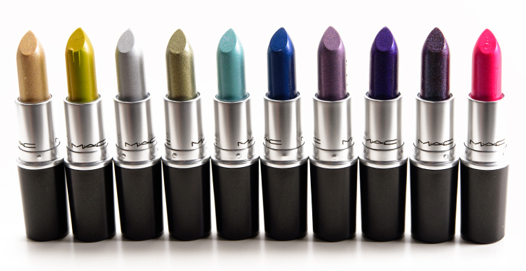 MAC Bangin' Brilliant Lipsticks (Frosts)
