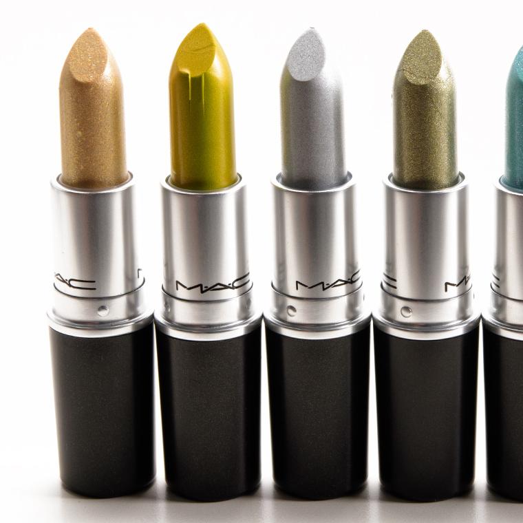 MAC Spoiled Fabulous, Wild Extract, Time to Shine Lipsticks