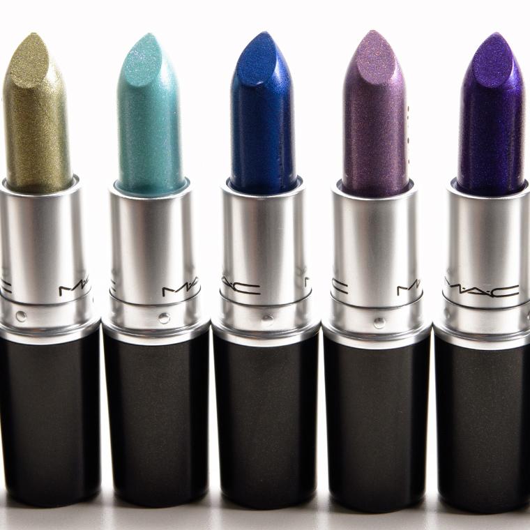 Pics For > Navy Blue Lipstick Mac