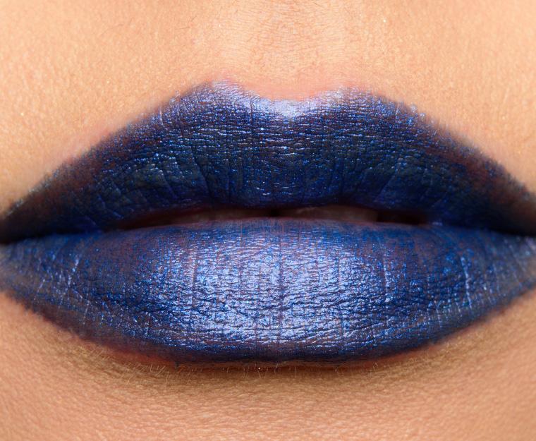 MAC Designer Blue Lipstick