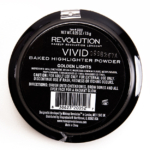 Makeup Revolution Golden Lights Vivid Baked Highlighter Powder