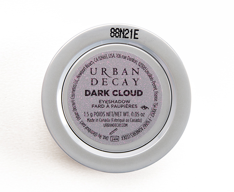 Urban Decay Dark Cloud Moondust Eyeshadow