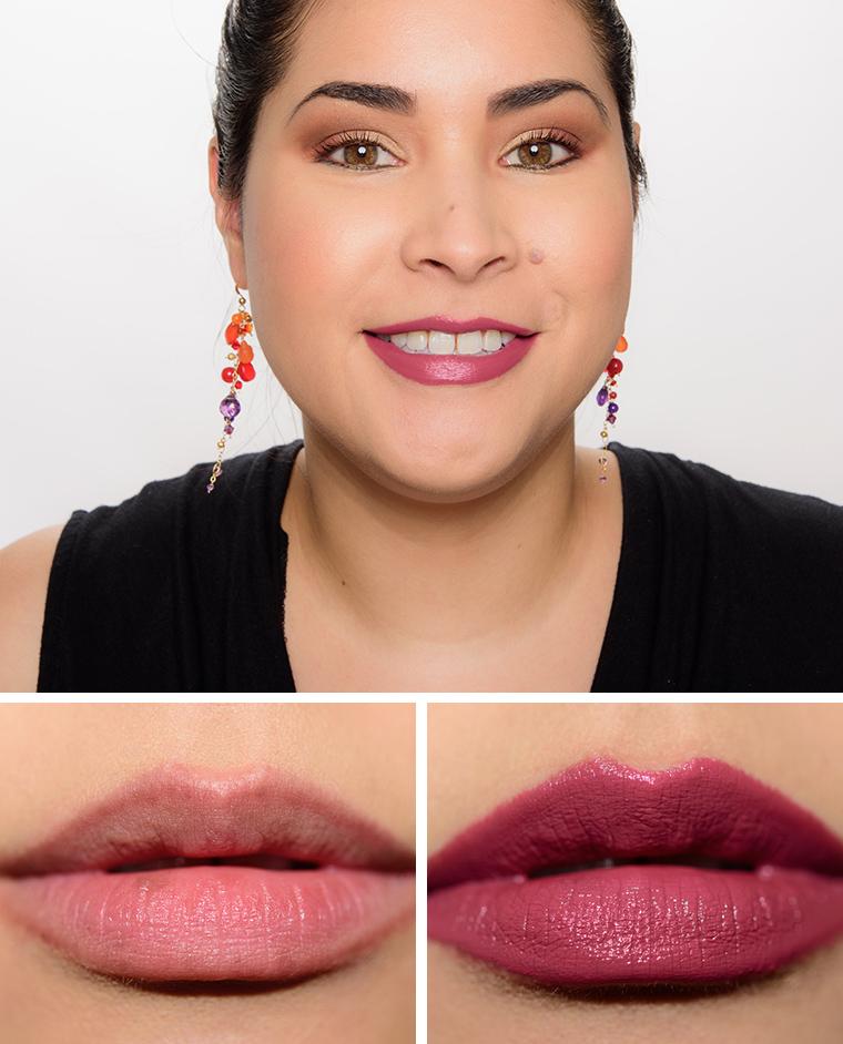 Bobbi Brown Bahama Brown Uber Rose Tahiti Pink Luxe Lip