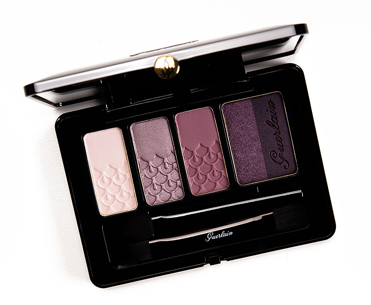 Guerlain Palette 5 Couleurs Eye Palette Review Swatches