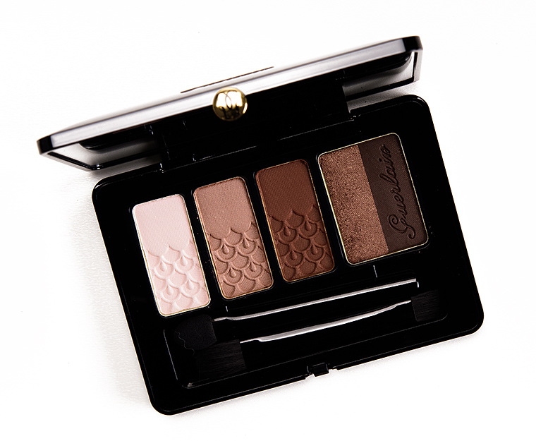 sneak peek guerlain palette 5 couleurs photos swatches. Black Bedroom Furniture Sets. Home Design Ideas