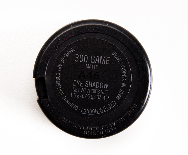 MAC 300 Game Eyeshadow