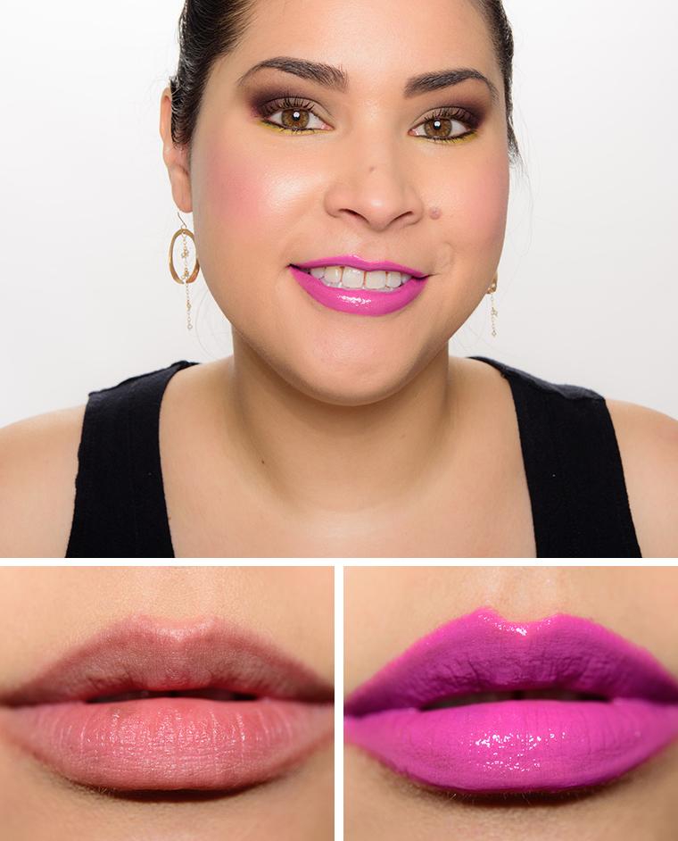 MAC Viva Glam Ariana Grande 2 Lipstick with Viva Glam Ariana Grande 2 Lipglass