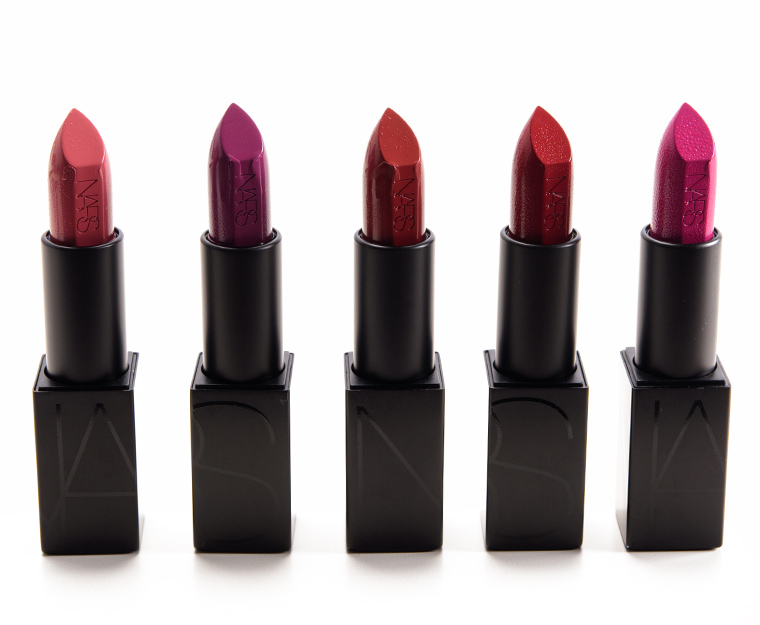 NARS Fall 2016 Audacious Lipsticks