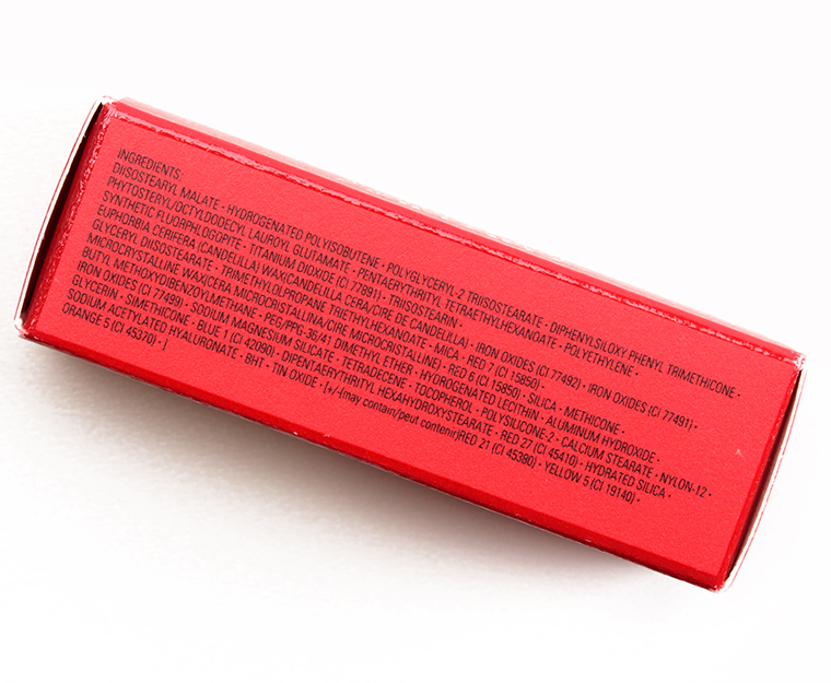 Shiseido Burning Up (RD310) Rouge Rouge Lipstick