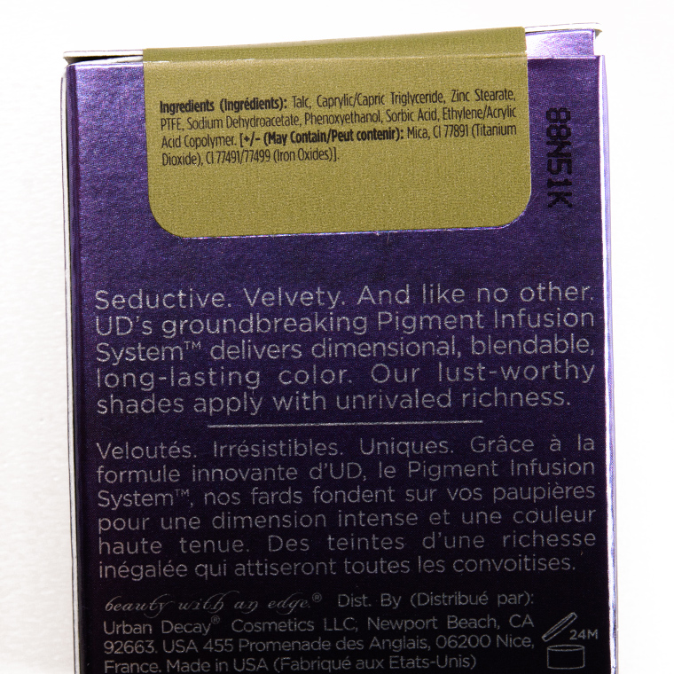 Urban Decay Chains Eyeshadow