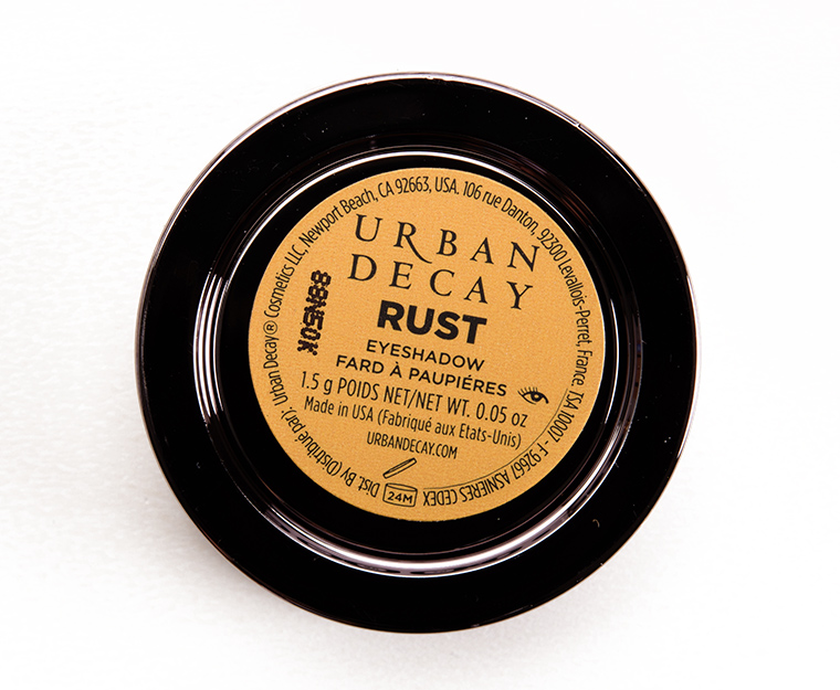 Urban Decay Rust Eyeshadow