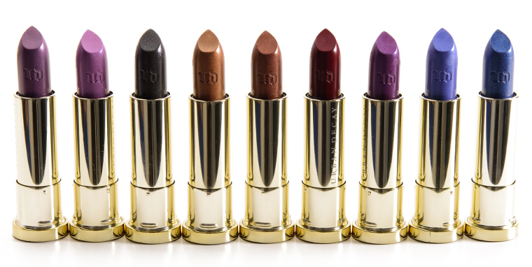 Urban Decay XX Vintage Vice Lipsticks