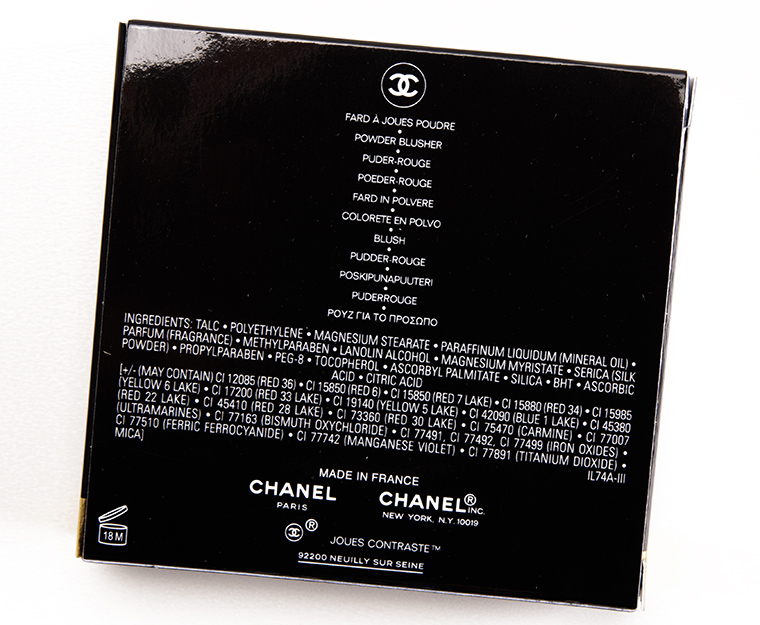 Chanel Rosewood (350) Joues Contraste Blush