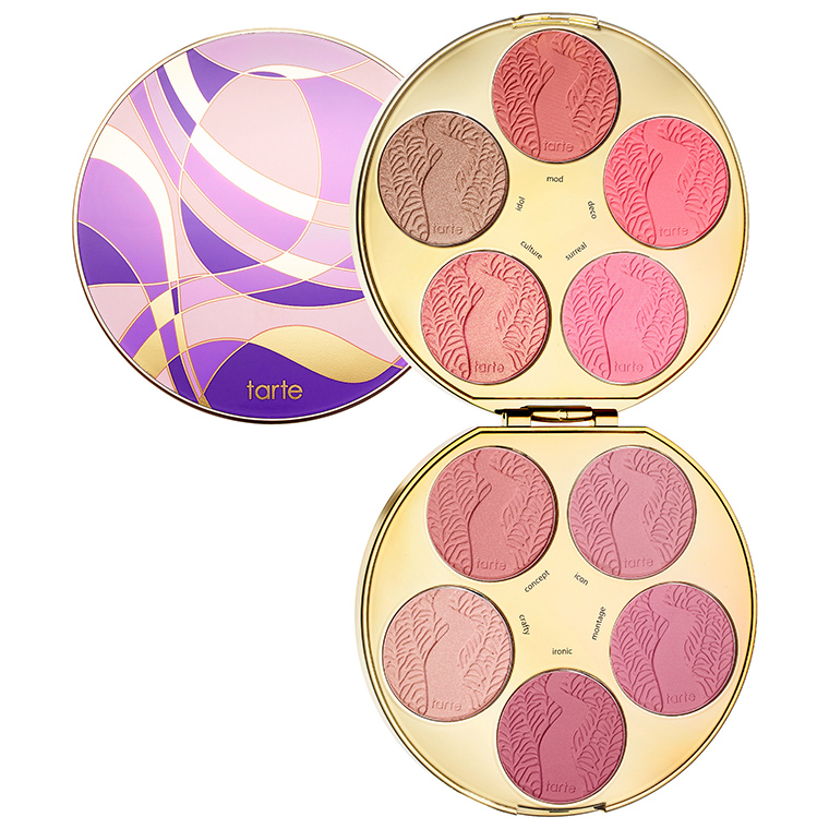 Image result for tarte amazonian clay blush palette color wheel