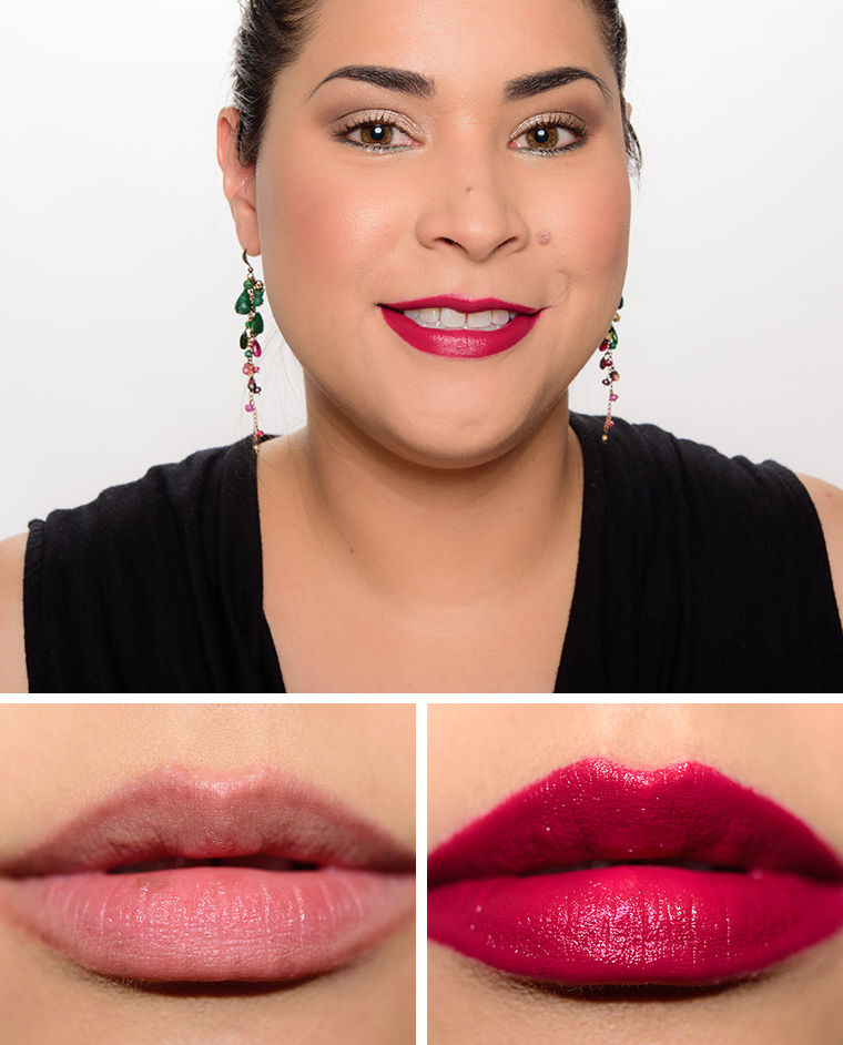 MAC Hellebore, Ambrosial, Marsala Liptensity Lipsticks ... Giorgio Armani Foundation