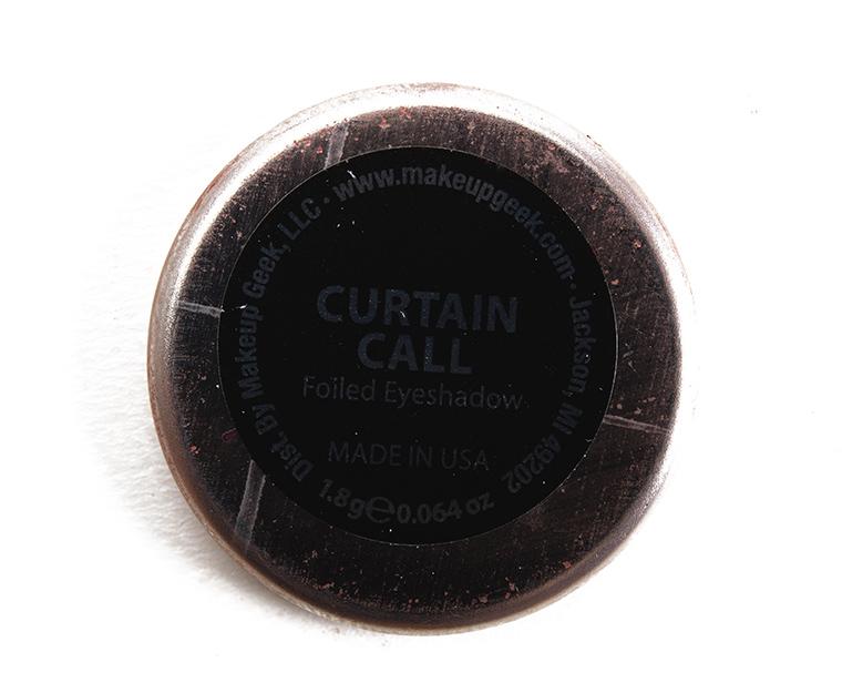 Makeup Geek Curtain Call Foiled Eyeshadow