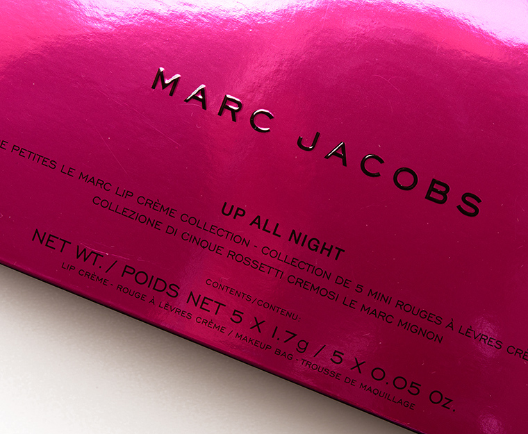 Marc Jacobs Beauty Up All Night Petites Le Marc Lip Crème Collection
