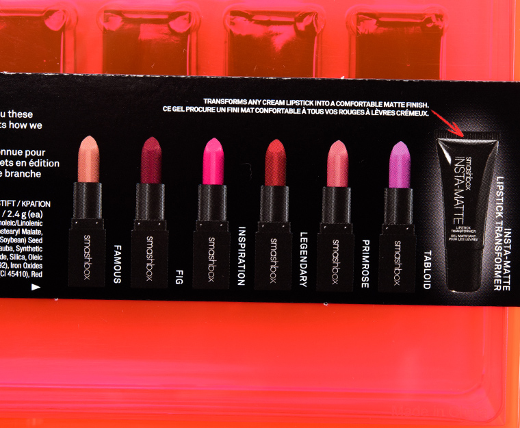 Smashbox Light It Up Be Legendary Lipstick Set