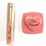 Too Faced Naughty Kisses & Sweet Cheeks Holiday 2016 Lip Injection & Love Flush Blush Set